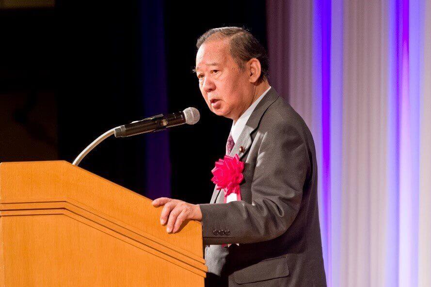 来賓ご挨拶 自由民主党 幹事長 二階 俊博様